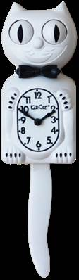 KIT CAT CLOCK BLANC