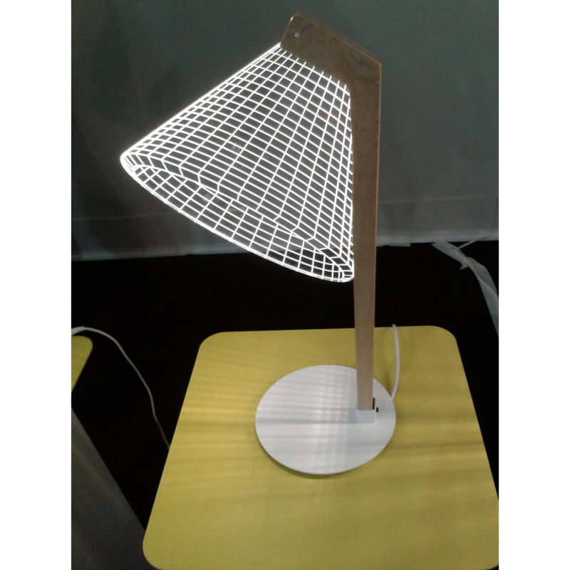 lampe 3d deski studio cheha finish line. Black Bedroom Furniture Sets. Home Design Ideas